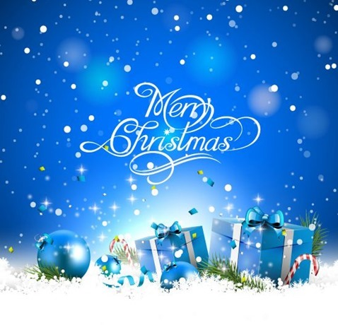 Christmas-Gift-Boxes-in-Snow-Vector-Illustration