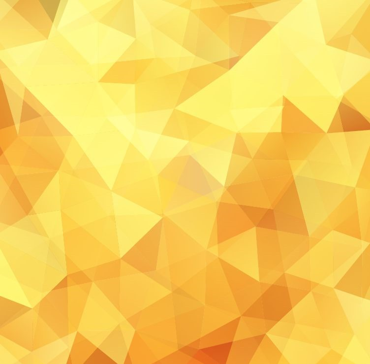 yellow low poly design abstract background vector