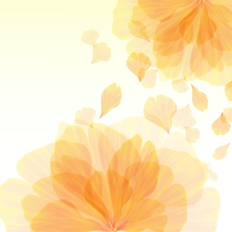 Abstract Flower Leaves Background Vector Illustration