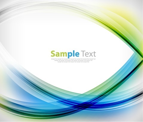 Abstract Design Colorful Vector Background