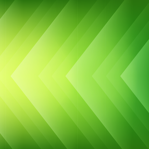 Abstract Green Arrows Background