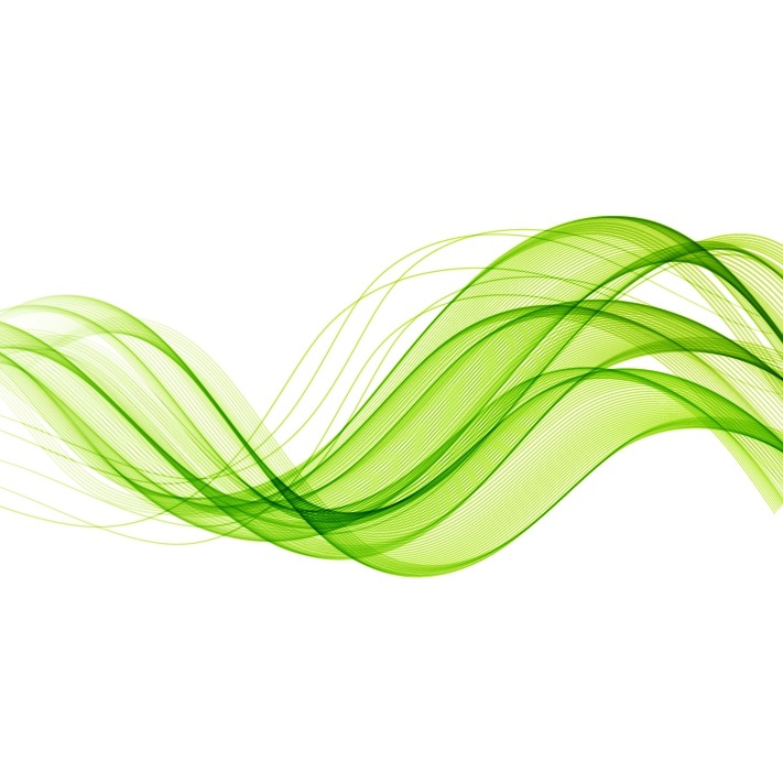 Vector Drawing Lines Download : Abstract green wavy lines vector background free