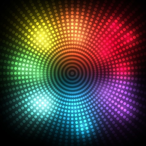 Abstract Design Dots Background