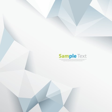 Abstract Geometric Shape Vector Background Template