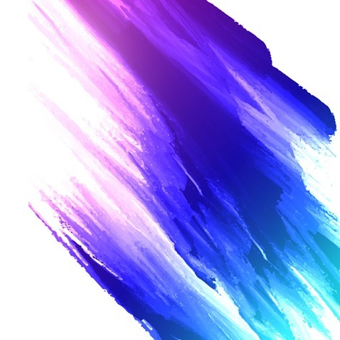 Abstract Colorful Watercolor Painting Background Vector Graphic