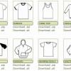 Free Vector T Shirt Templates
