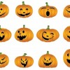 Halloween Vector Pumpkins