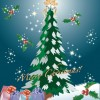 Free Christmas Tree Vector Graphic Pack