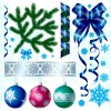 A Variety of Christmas Decorations Vector Material
