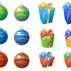 Free Christmas Ornaments and Gifts Icons