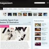 Free Magazine-Look WordPress Theme – Magazeen