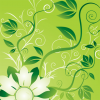 Free Vector Graphic – Flowers and Swirls