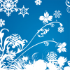 Free Vector Graphic &#8211; Winter Swirls