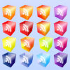 3D Cube RSS Subscribe Vector Icon