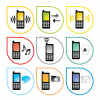 Mobile Phone Style Vector Icon