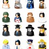 Free Avatars Icon Set &#8211; DressUp!