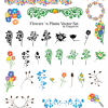 Free Flowers&#039;n Plants Vector Set