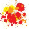Free Vector – Splats and Hatchings