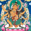 Tibetan Buddhist Thangka Vector Free Download
