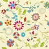 Designious Free Retro Seamless Pattern Vector