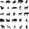 88 Free Vector Animal Silhouettes