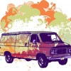 Free Psychadelic Van Vector Graphic