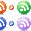 Free Circle Feeds Icons