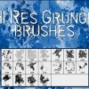 Hi-Res Grunge Photoshop Brushes