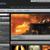 Free CSS Web Template – Game Portal