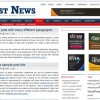 Free WordPress Theme &#8211; Just News