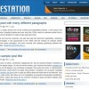 Free WordPress Theme – Blue Station