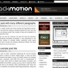 Free WordPress Theme &#8211; Black Motion