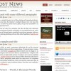 Free WordPress Theme – Post News