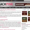 Free WordPress Theme – Black Pink