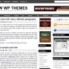 Free WordPress Theme – Groove Black