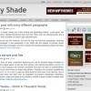 Free WordPress Theme – Grey Shade