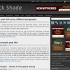 Free WordPress Theme &#8211; Black Shade