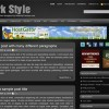 Free WordPress Theme &#8211; Dark Style