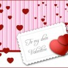 Valentine's Day Card Vector Graphic