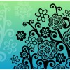 Flower Tree Vector Graphic