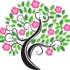 Blossom Tree Vector