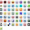 57 iPhone Style Icon Set