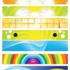 Modern Abstract Banner Vector Set