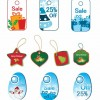 Christmas Tags Vector Set