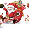 Lovely Santa Claus Vector Graphics