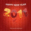 Happy New Year 2011 Vector Graphic