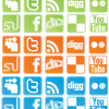Free Icon Set &#8211; Social Network Sites