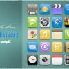 Aquaticus Theme Icons for iPhone or iPod Touch