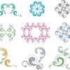 Free Colorful Ornaments & Patterns Vector Set