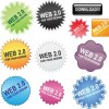 Free Web 2.0 Buttons Vector Pack